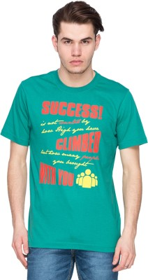 Kanva Printed Men's Round Neck T-Shirt