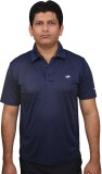 Fitsoul Solid Men's Polo Neck Dark Blue ...