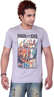 Punjabi Heritage Graphic Print Men,s Round Neck T-Shirt