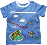JusCubs Solid Boy's Round Neck T-Shirt