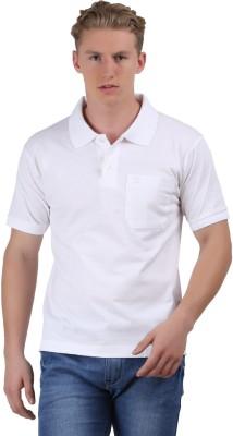 Ramraj Cotton Solid Men's Polo T-Shirt