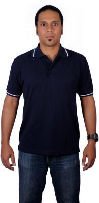 Alkaline Solid Men's Polo Neck T-Shirt