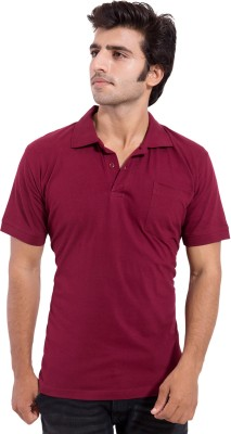 Iradi Fashions Solid Men,s Polo Neck T-Shirt
