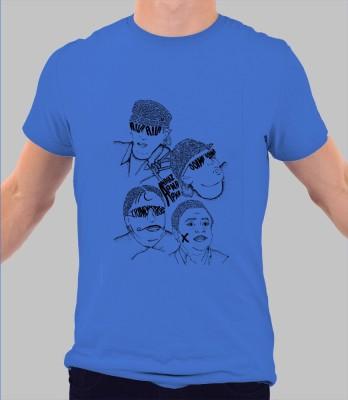 Merchbay Solid Men's Round Neck T-Shirt