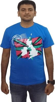 YDA Printed Men's Round Neck T-Shirt
