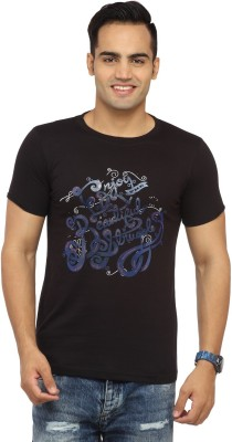 Byrock Printed Men's Round Neck T-Shirt