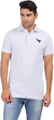 Kite Clothing Solid, Printed Men's Polo Neck T-Shirt