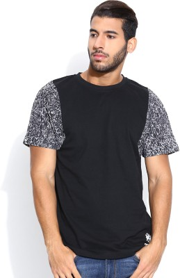 Reebok Classic Printed Men's Round Neck T-Shirt