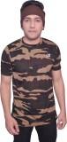 Dyed Colors Military Camouflage Men's Ro...