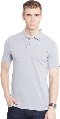 Jogur Solid Men's Polo Grey T-Shirt