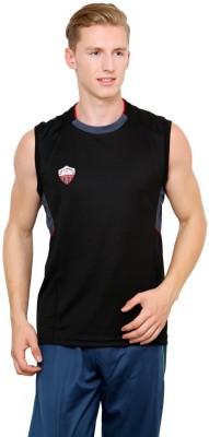Dida Sportswear Solid Men's Round Neck T-Shirt