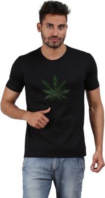 Xtees Self Design Men's Round Neck T-Shirt