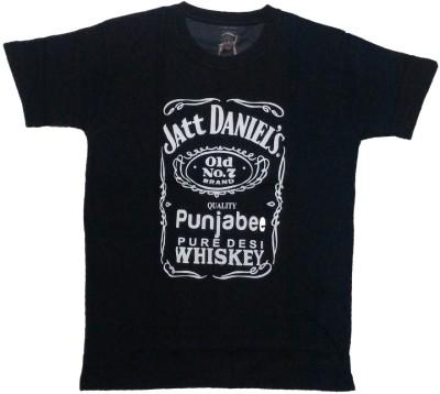 Chiwawa Printed Men's Round Neck T-Shirt