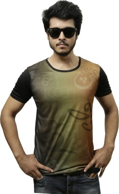 Gypsy Soul Graphic Print, Printed Men's Round Neck Multicolor T-Shirt