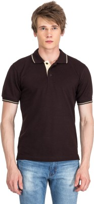 Xplore Solid Men's Flap Collar Neck T-Shirt