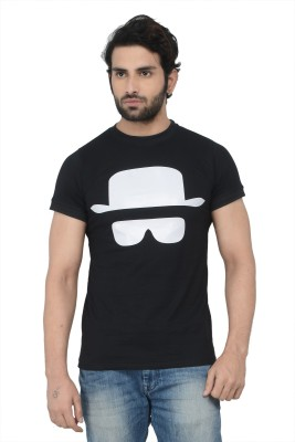 Karnik Couture Printed Men's Round Neck T-Shirt
