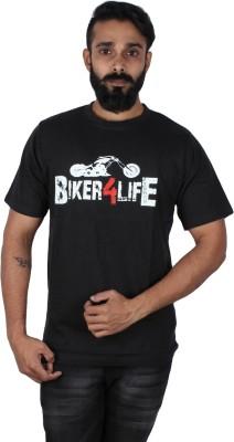 Pickled Merchandise Graphic Print Men's Round Neck Black T-Shirt
