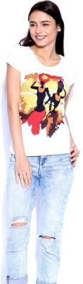Go-Art Printed Women,s Round Neck T-Shirt