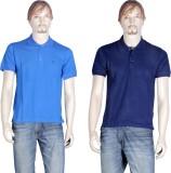 Point Sevan Solid Men's Mandarin Collar ...