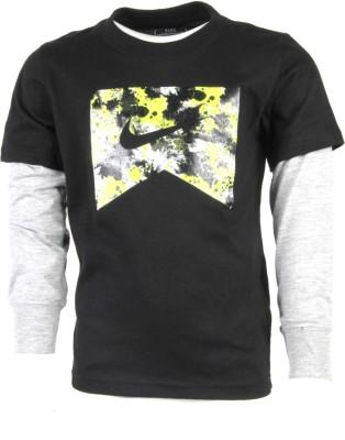 Nike Kids Printed Boy's Round Neck T-Shirt