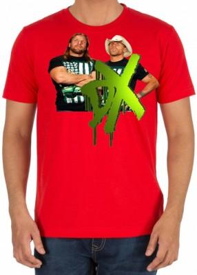 RUKMINI Printed Men's Round Neck Red T-Shirt