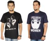Leo Clothing Printed Men's Round Neck Re...
