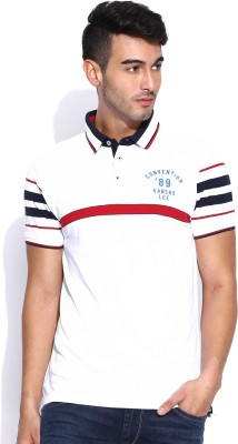 Lee Solid Men's Polo Neck T-Shirt