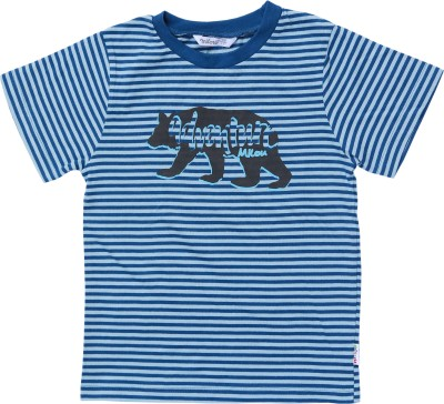 Milou Striped Boy's Round Neck T-Shirt