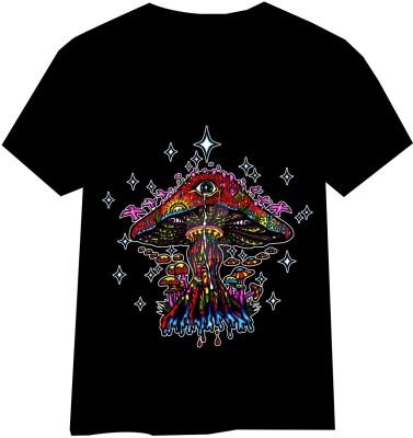 HINDUKUSH Graphic Print Men's Round Neck T-Shirt