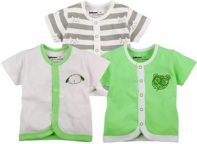 Babyoye Premium Printed Baby Boy,s Round Neck Green T-Shirt