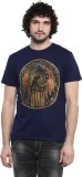 Harry Potter Printed Men's Round Neck Bl...