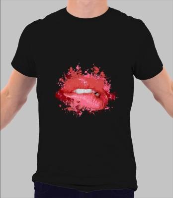 Merchbay Floral Print Men's Round Neck T-Shirt