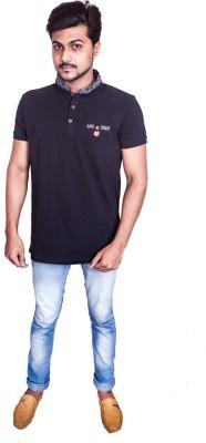 Fashion Passion Printed Men's Fashion Neck T-Shirt