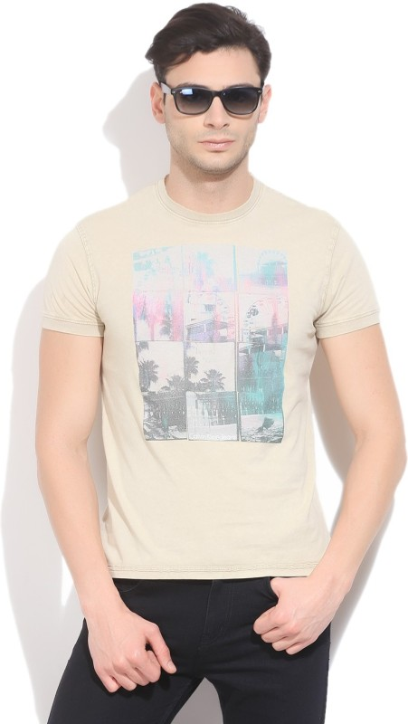 Calvin Klein Printed Men's Round Neck T-Shirt