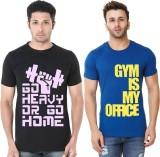 Hotfits Graphic Print Men's Round Neck M...
