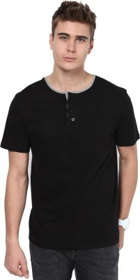 T-shirt Company Solid Men's Round Neck T-Shirt