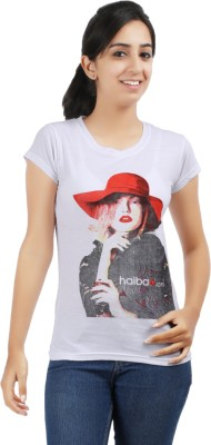 Be Style Printed Women's Round Neck T-Shirt