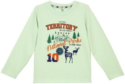 Oye Printed Boy's Round Neck T-Shirt