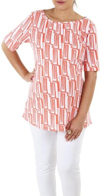 Liz Lange Printed Women's Round Neck T-Shirt