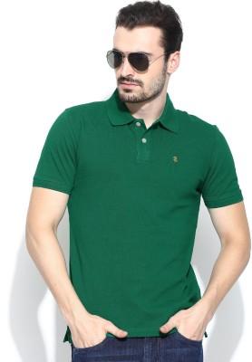 IZOD Solid Men's Polo Neck T-Shirt