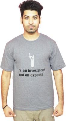 Gystia1 Self Design Men's Round Neck T-Shirt