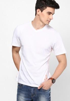 Camino Solid Men's V-neck T-Shirt