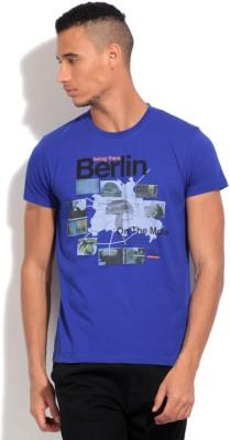 Lee Men's Blue T-Shirt