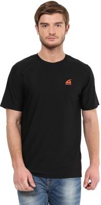 Aurro Solid Men's Round Neck T-Shirt