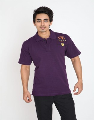 Wincraft Printed Men's Polo Purple T-Shirt