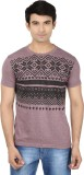 Minute Merge Printed Men's Round Neck Pu...