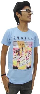 Prage Graphic Print Boy's Round Neck T-Shirt