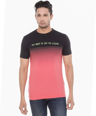 Wexford Printed Men's Round Neck Multicolor T-Shirt