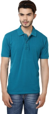 Bajo Solid Men's Polo Neck T-Shirt