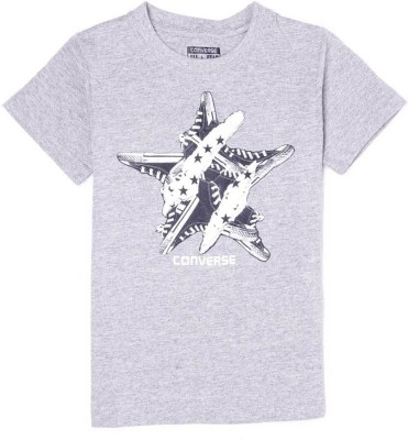 Converse Graphic Print Boy's Round Neck T-Shirt